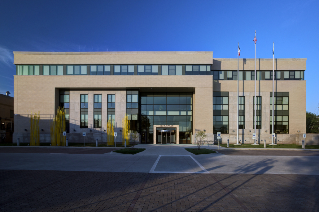 Linn County Administrative Office Exterior Elevation