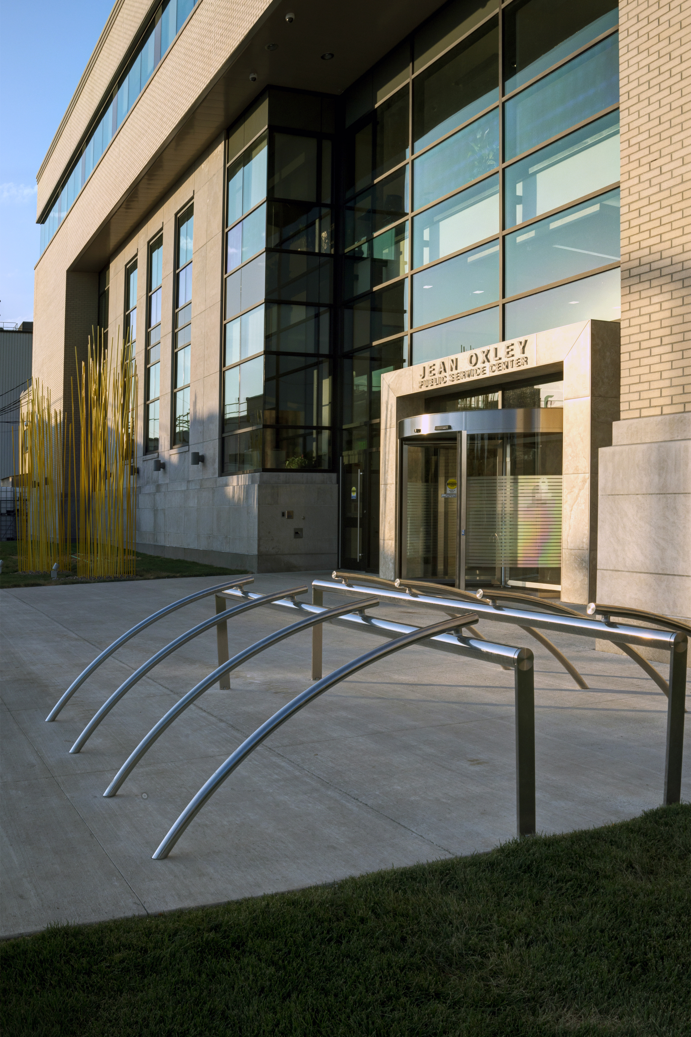 Linn County Administrative Office Exterior Entry