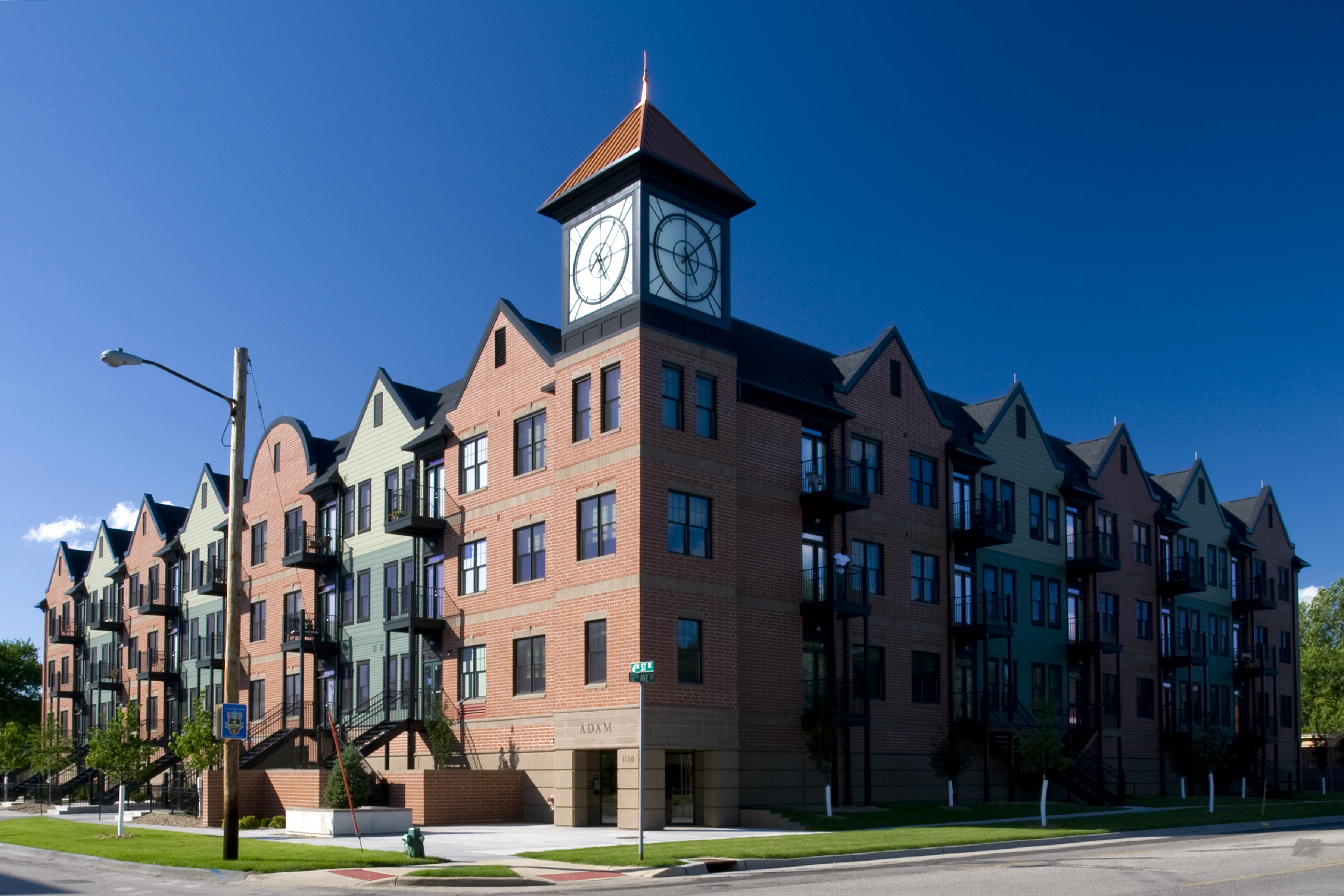 Oak Hill Jackson Housing Clock Tower